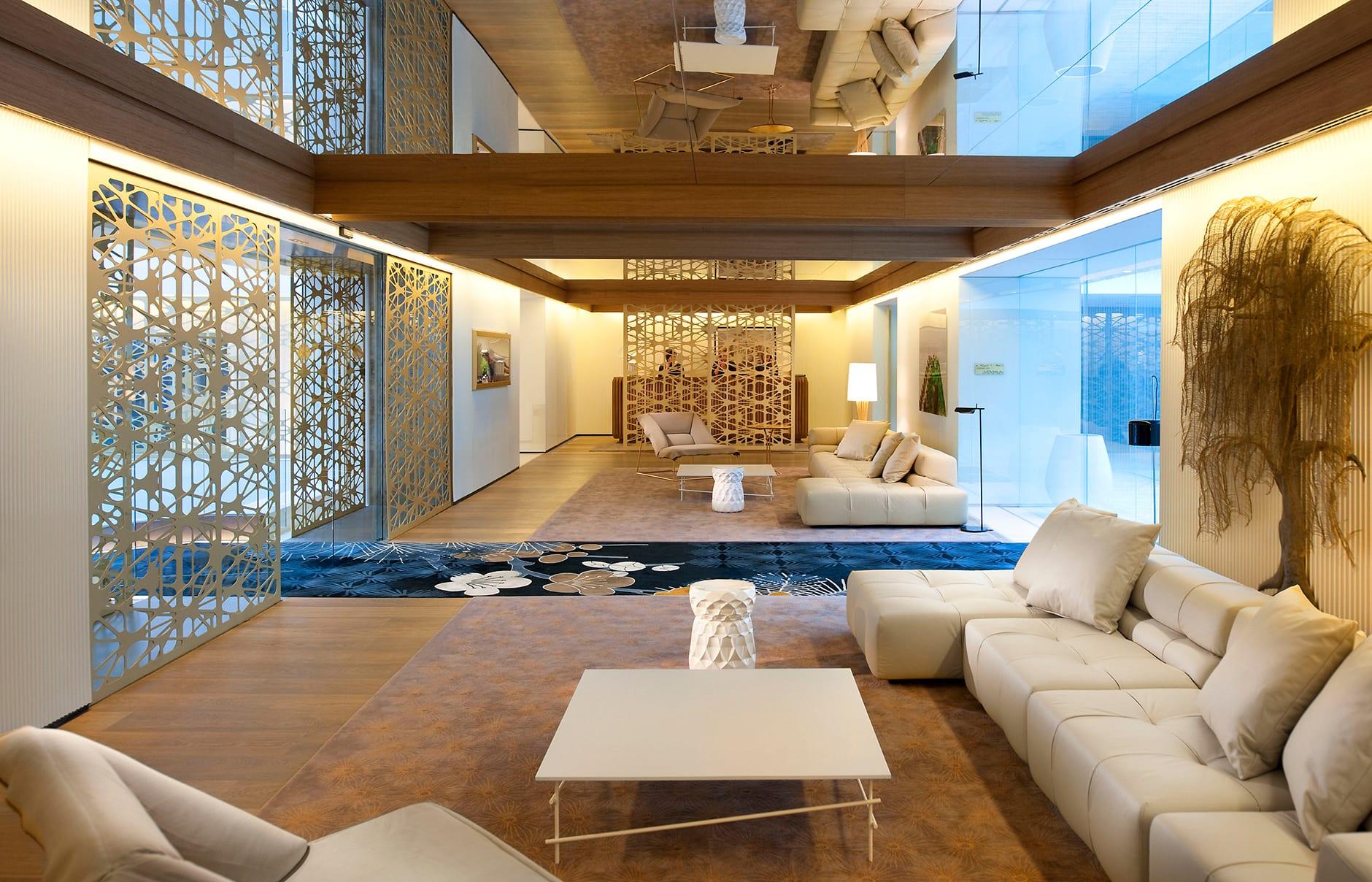 Main lobby. Mandarin Oriental Barcelona. © Mandarin Oriental Hotel Group
