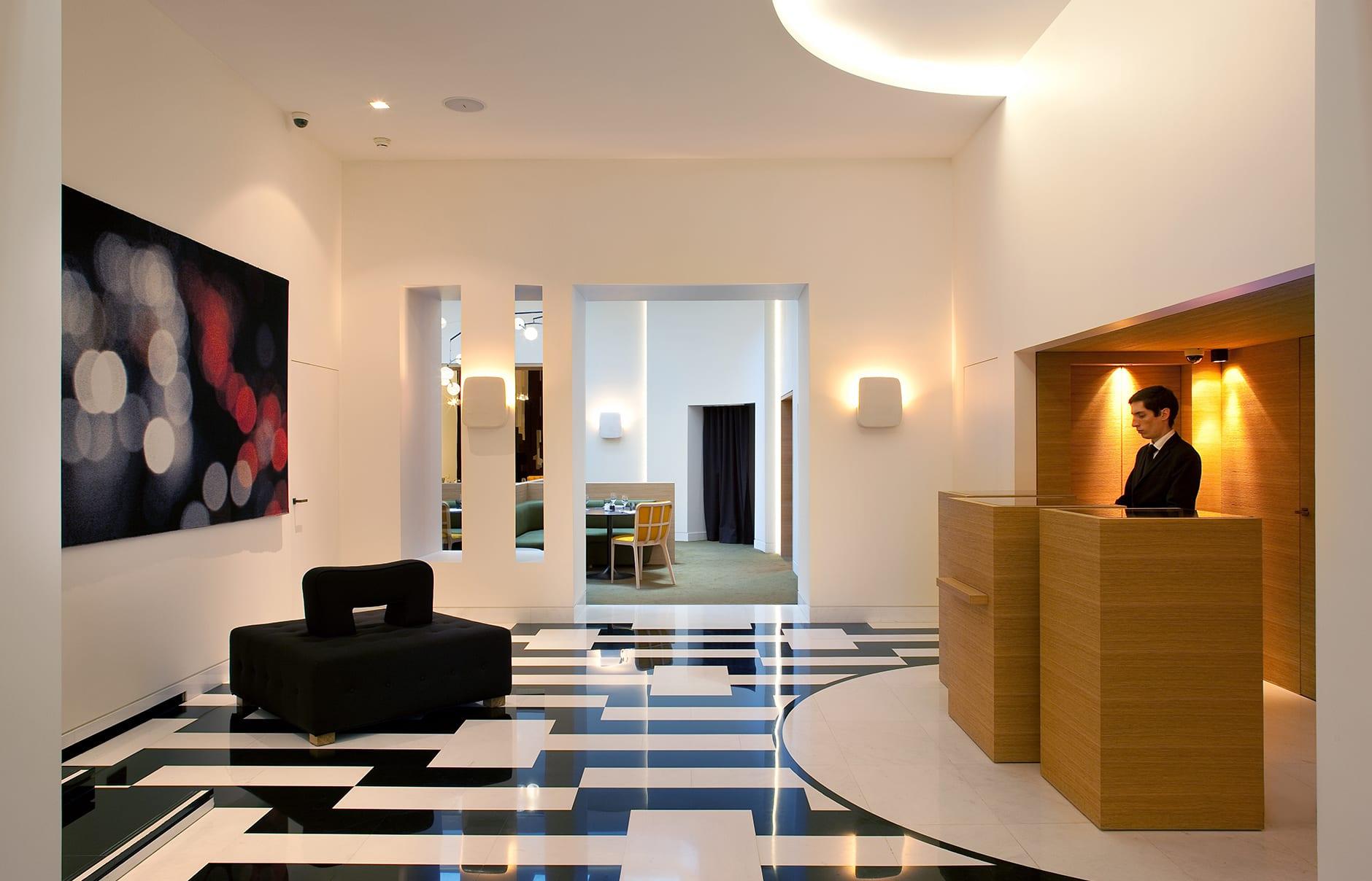 Reception. Marignan Paris, France. © Marignan