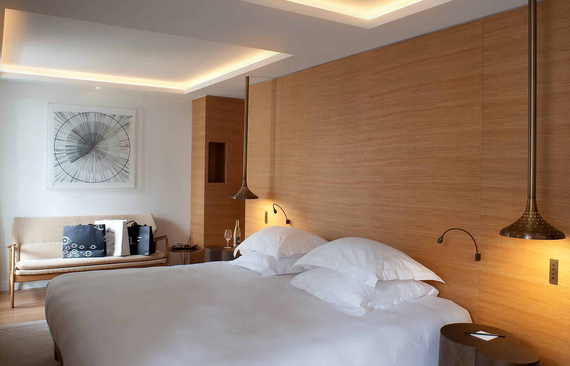 Prestige Room. Marignan Paris, France. © Marignan