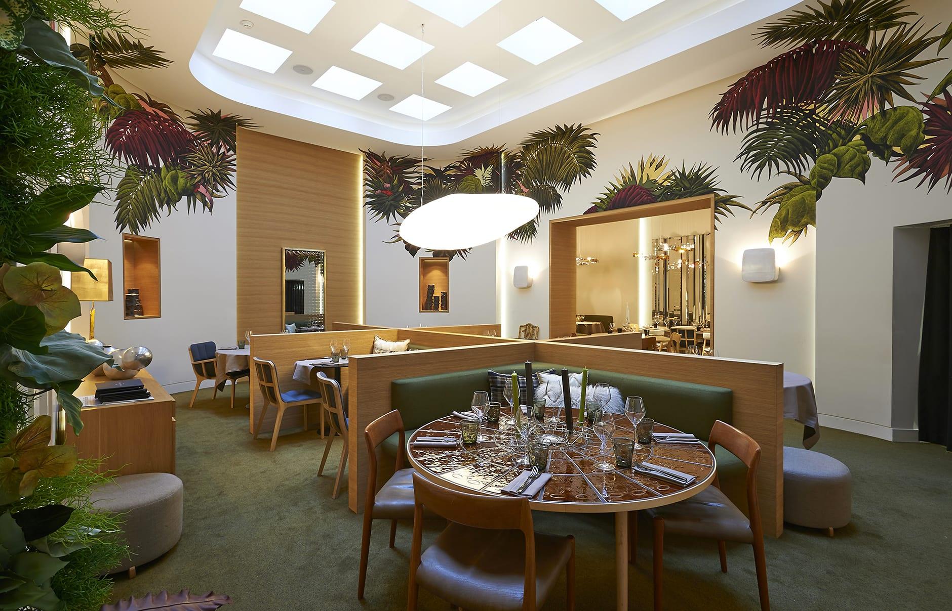 Restaurant. Marignan Paris, France. © Marignan