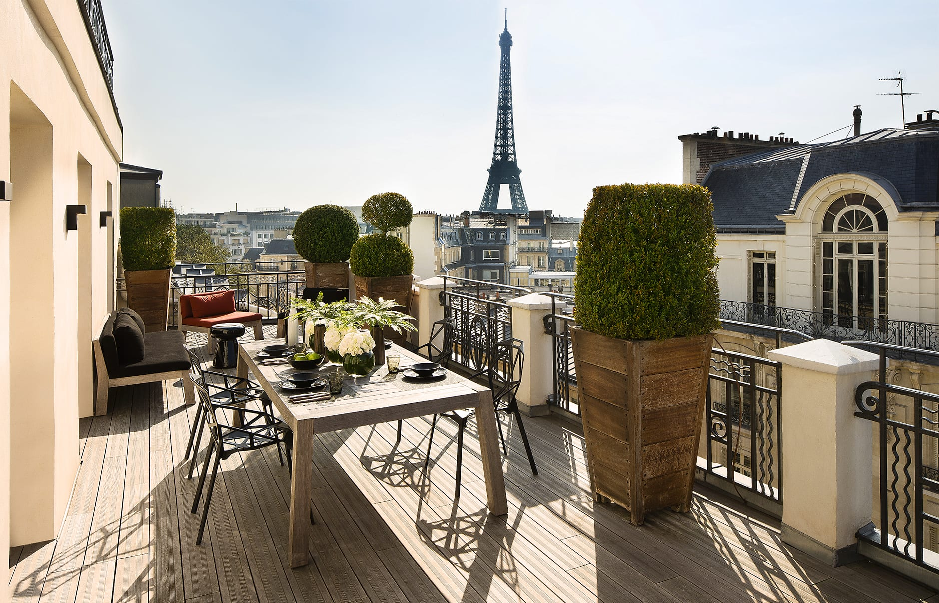 Marignan paris luxury hotels travelplusstyle for Hotel the terrace