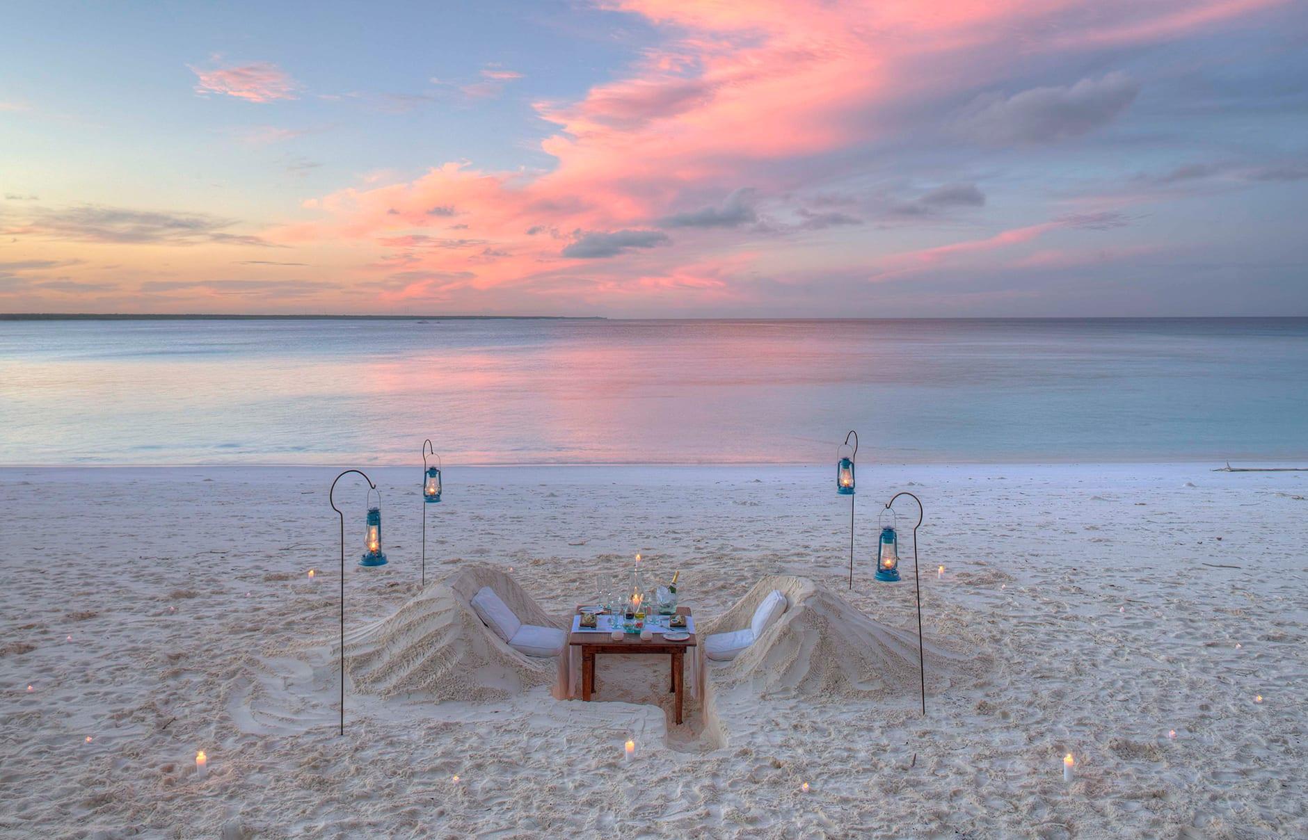 Mnemba Island Lodge, Zanzibar, Tanzania. © &Beyond