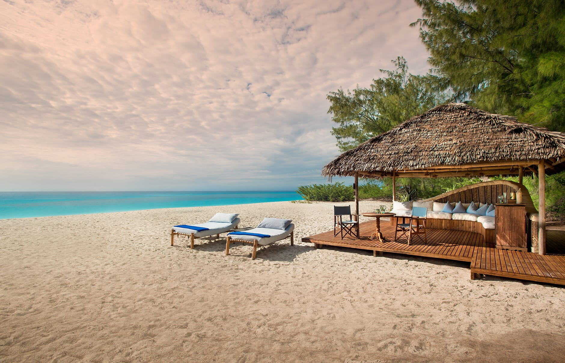 Mnemba island lodge zanzibar luxury hotels travelplusstyle for Hotels zanzibar