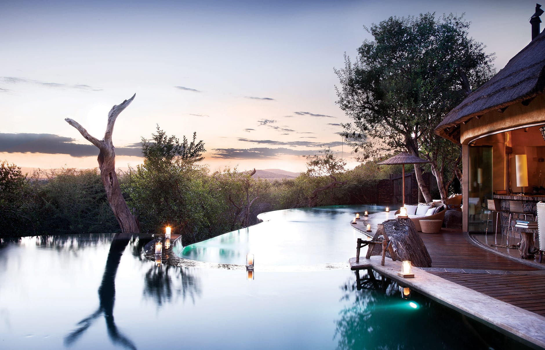 Molori Safari Lodge, South Africa. Pool © Molori Safari Lodge