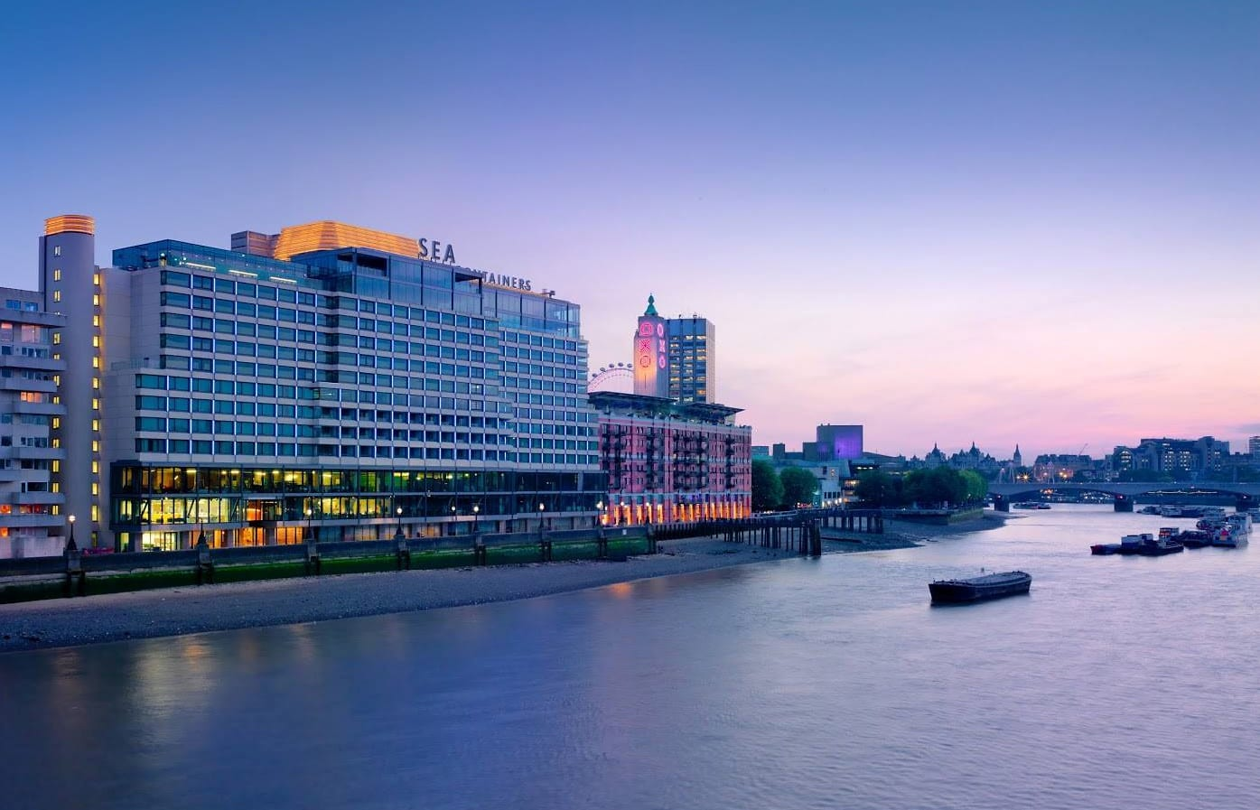 Sea Containers London in London, United Kingdom. Hotel Review by TravelPlusStyle. Photo © Sea Containers Hotel