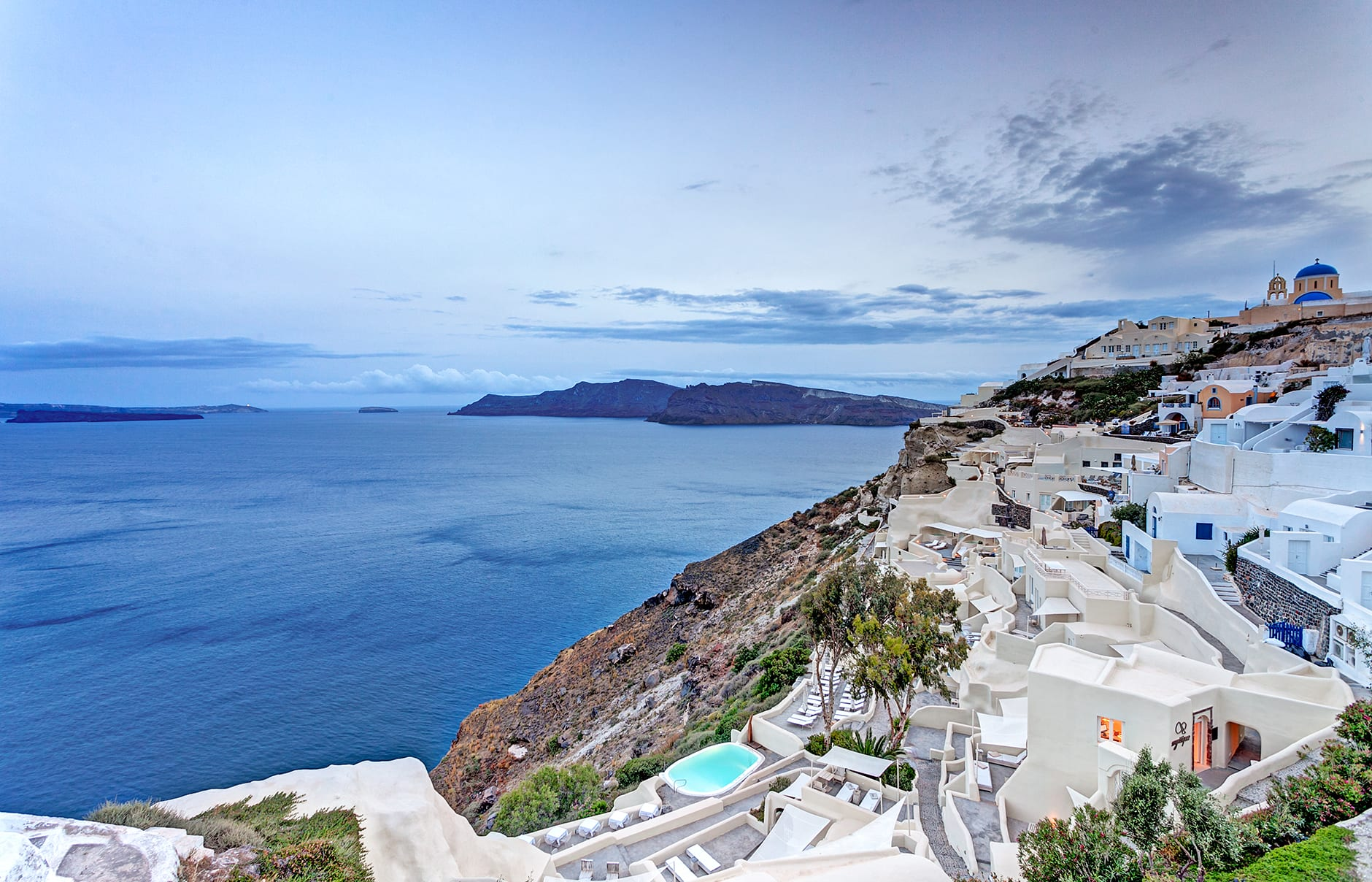 Mystique, Santorini. © Mystique Resort Santorini, Greece
