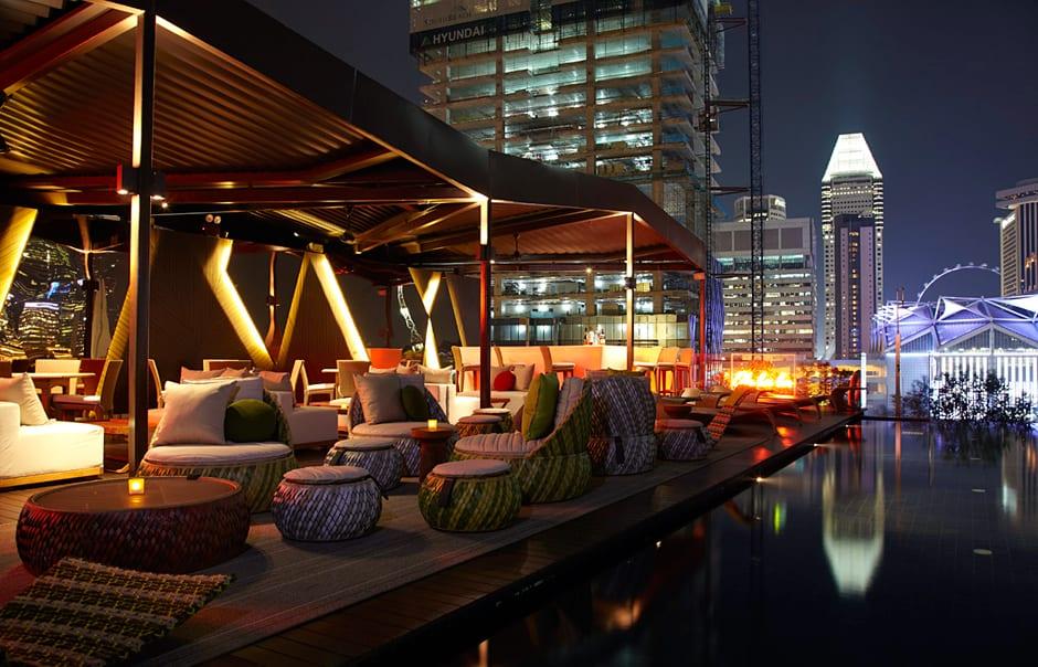 Rooftop. Naumi, Singapore. © Naumi