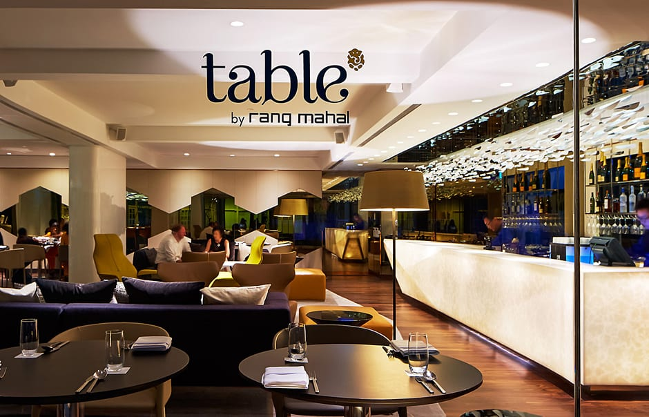 Table Restaurant & Bar. Naumi, Singapore. © Naumi