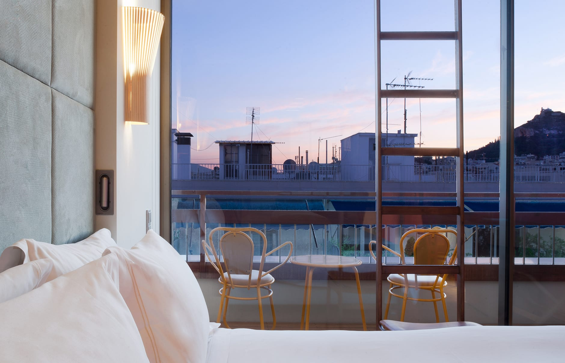 New Hotel, Athens, Greece. Hotel Review by TravelPlusStyle. Photo © New Hotel