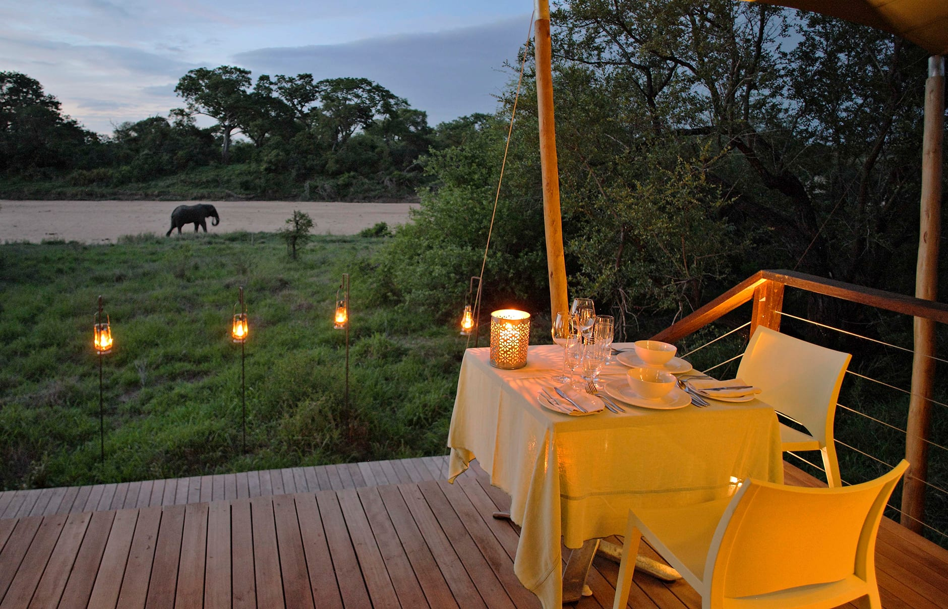 &Beyond Ngala Tented Camp, Kruger National Park, South Africa. Review by TravelPlusStyle. Photo © &Beyond