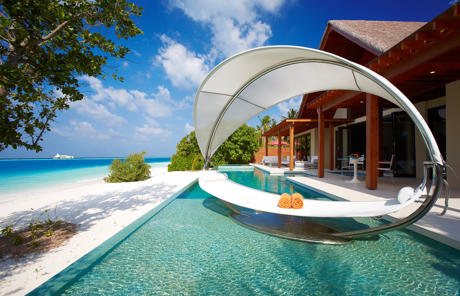 Presidential Beach Pool Villa. Niyama Private Islands Maldives. Hotel Review by TravelPlusStyle. Photo © NIYAMA