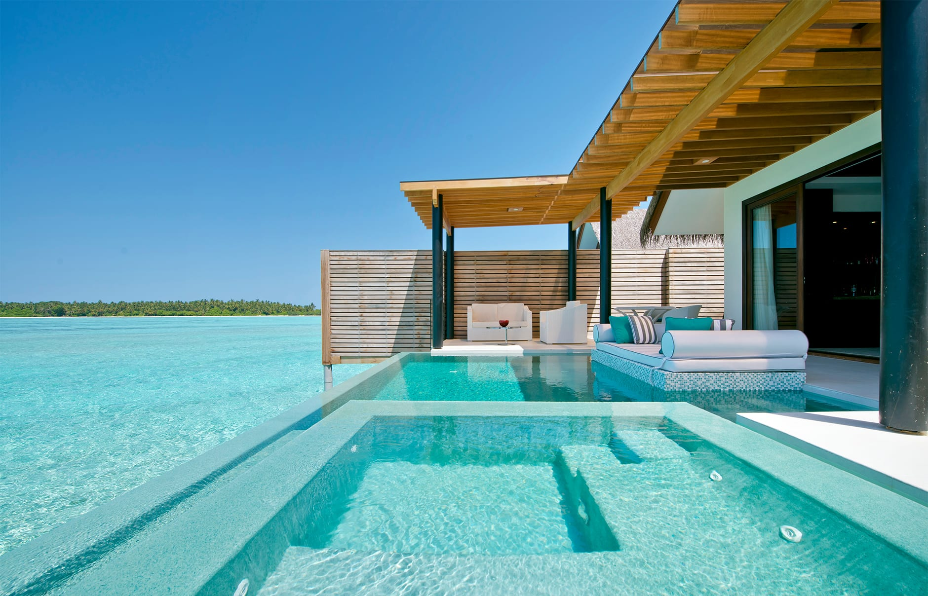 Deluxe Water Studio. Niyama Private Islands Maldives. Hotel Review by TravelPlusStyle. Photo © NIYAMA