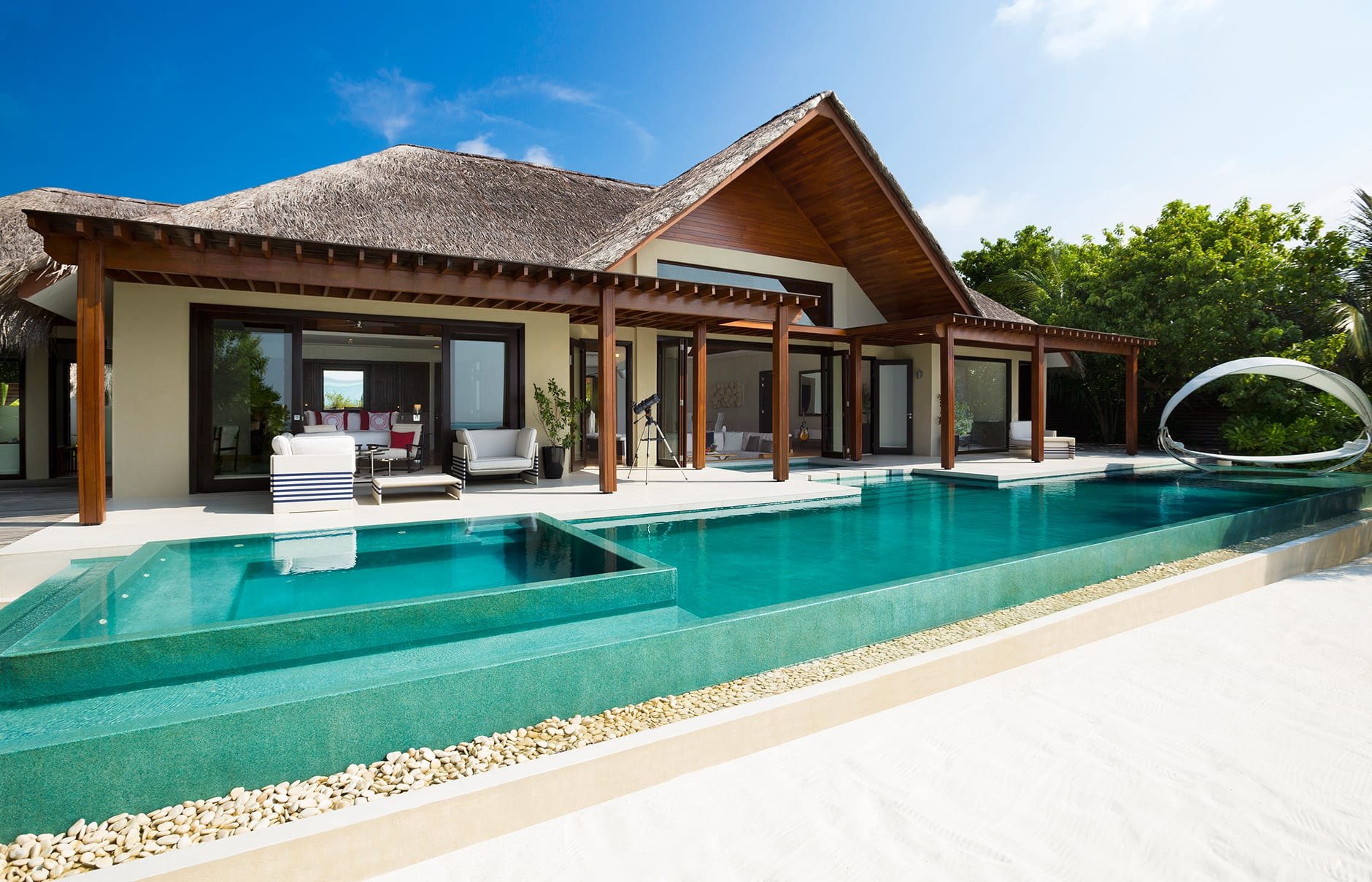 Beach Pavilion. Niyama Private Islands Maldives. Hotel Review by TravelPlusStyle. Photo © NIYAMA