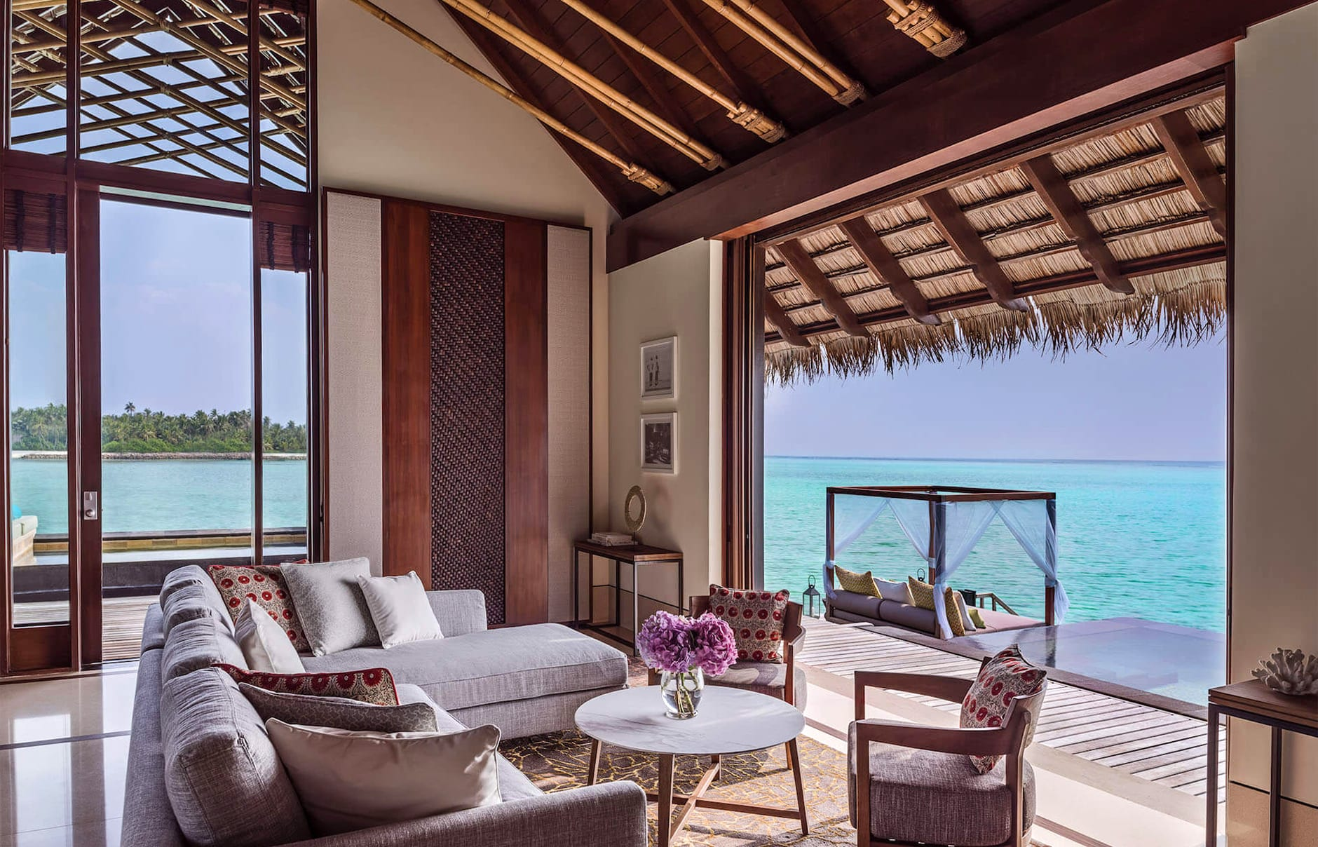 One&Only Reethi Rah, Maldives. Luxury Hotel Review by TravelPlusStyle. Photo © One&Only Resorts