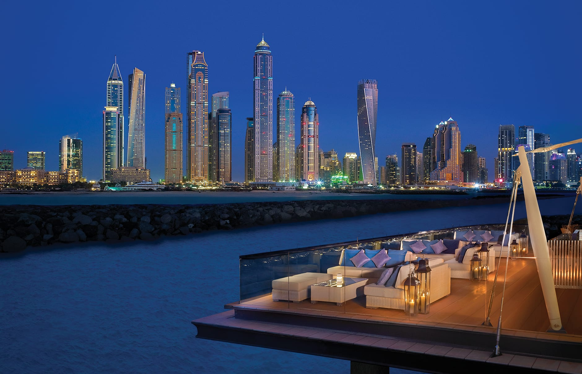 One&Only The Palm, Dubai, UAE. Luxury Hotel Review by TravelPlusStyle. Photo © One&Only Resorts
