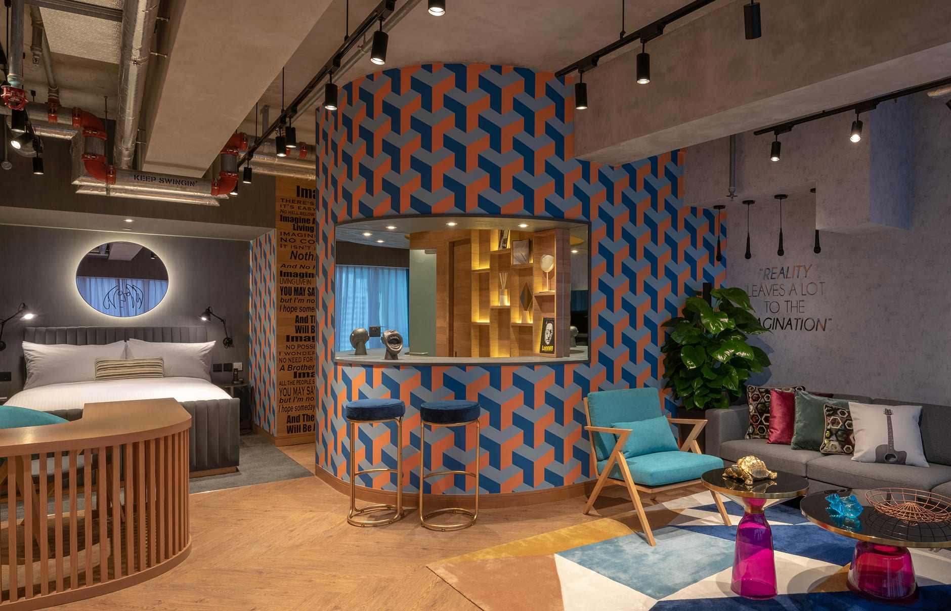 Ovolo Southside, Hong Kong, China. Hotel Review by TravelPlusStyle. Photo © Ovolo Group Limited