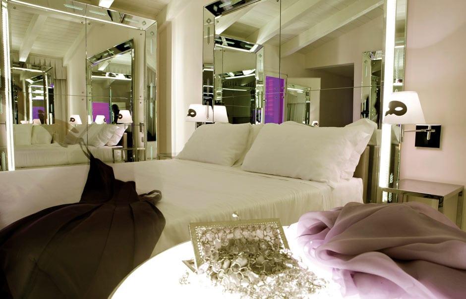Superior room. PalazzinaG, Venice, Italy. © Palazzina G