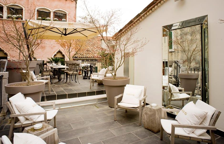 Krug Terrace. PalazzinaG, Venice, Italy. © Palazzina G
