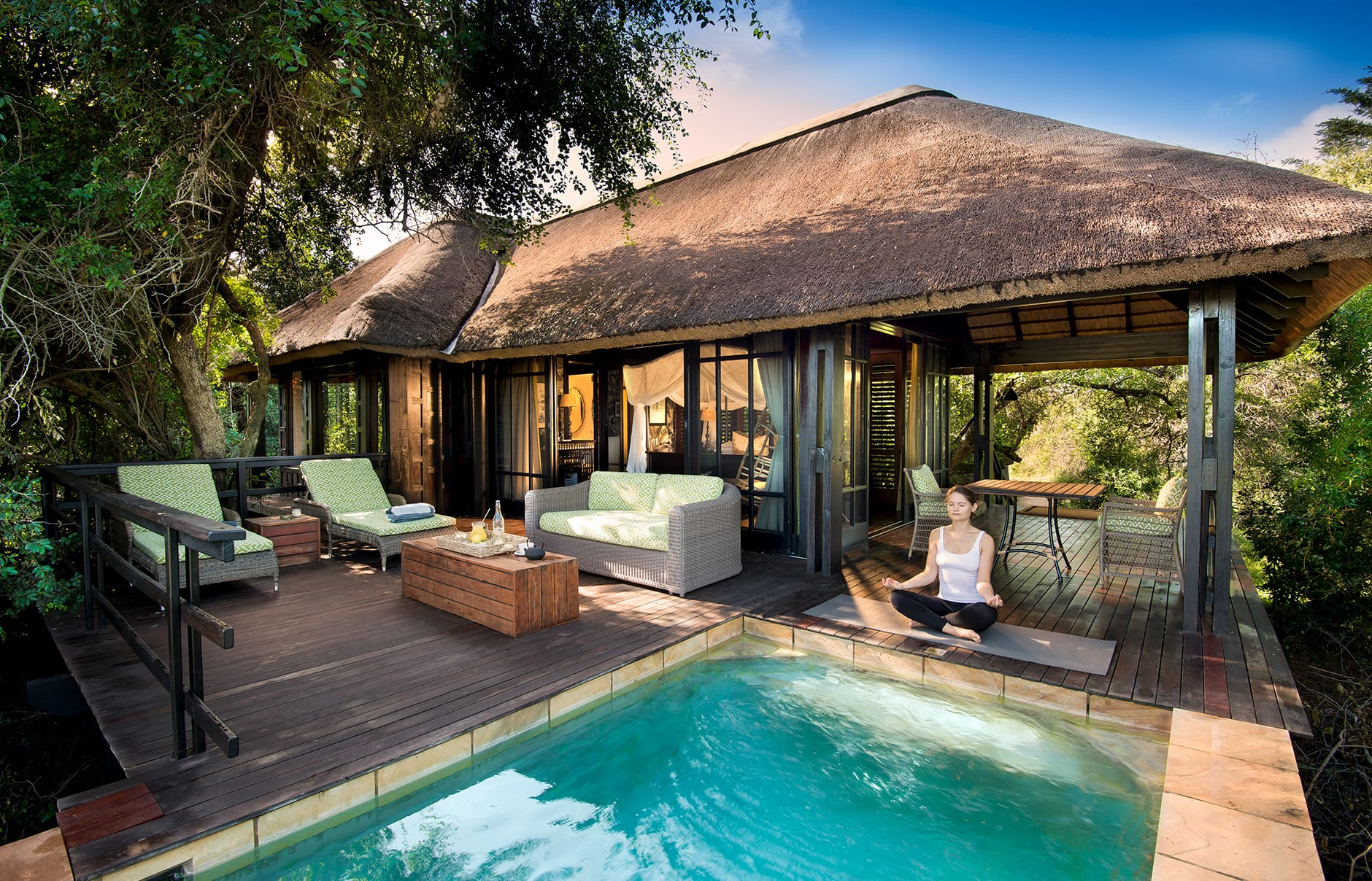 andBeyond Phinda Private Game Reserve, South Africa. Review by TravelPlusStyle. Photo © &Beyond