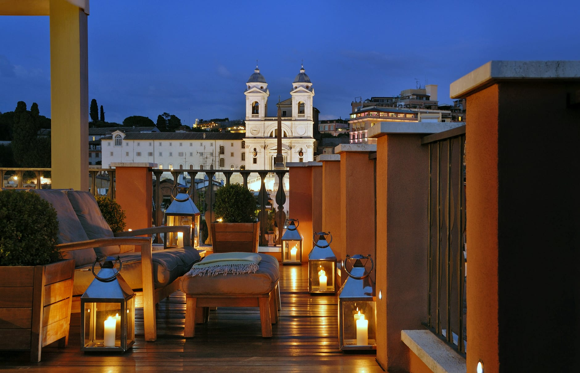 Portrait Roma - Rome, Italy. Hotel Review by TravelPlusStyle. Photo © Lungarno Collection