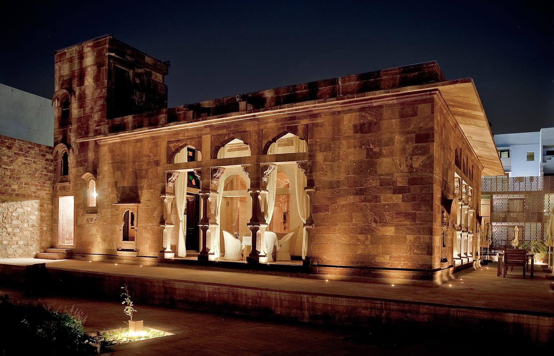 Baradari Restaurant. Raas Jodhpur, India. © Rass