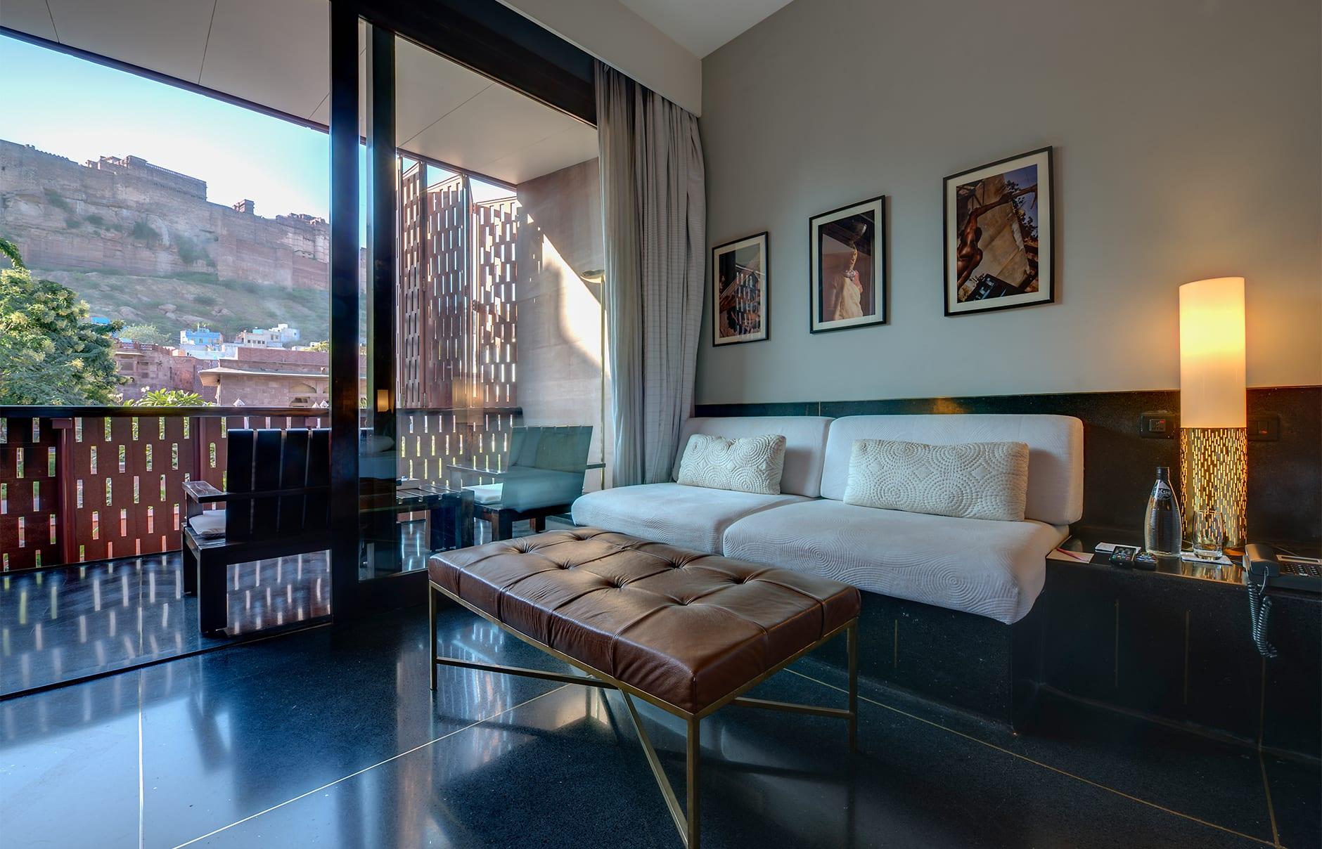 Luxury Room. Raas Jodhpur, India. © Rass