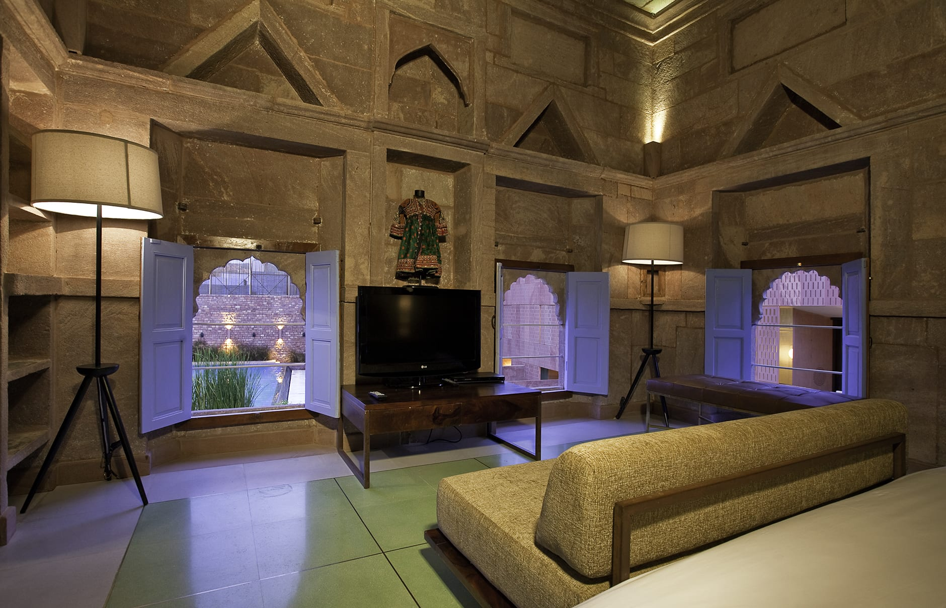 Heritage Suite. Raas Jodhpur, India. Luxury Hotel Review by TravelPlusStyle. Photo © Rass
