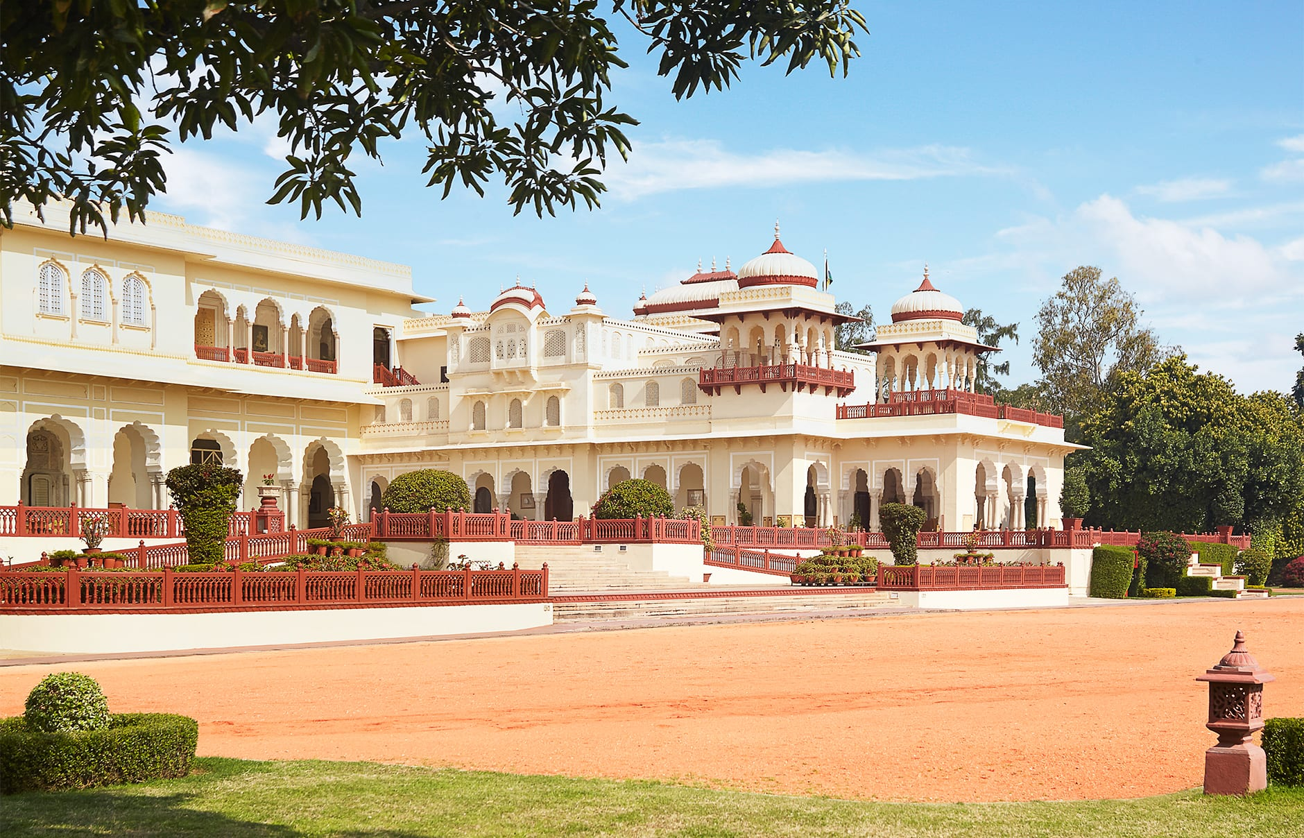 Rambagh Palace, Jaipur, India. © Taj Hotels Resorts and Palaces