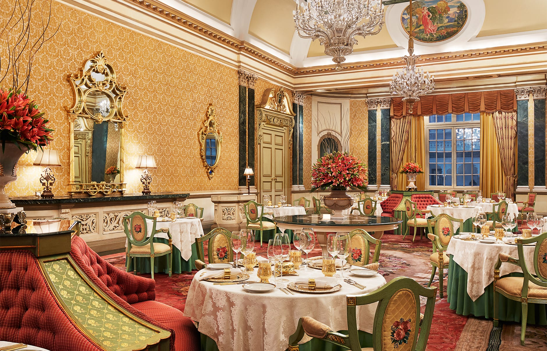 Dining Room Furniture Deals Rambagh Palace Jaipur 171 Luxury Hotels Travelplusstyle