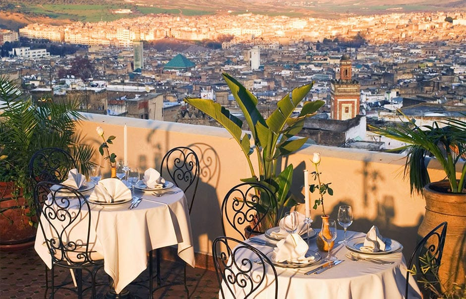 Panoramic terrace, Riad Fès, Morocco © RIAD FES