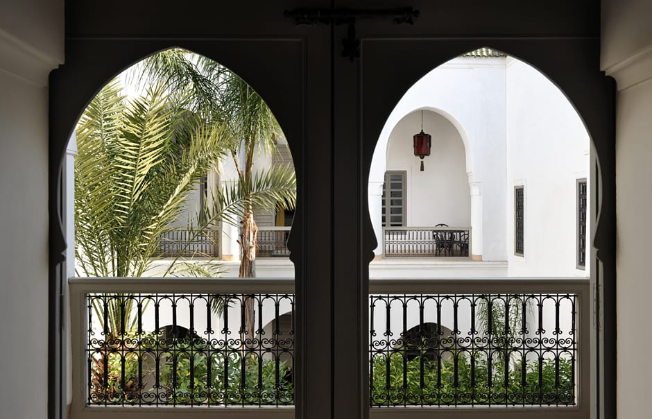 Balcony. Riad Talaa12, Marrakech. © Talaa 12