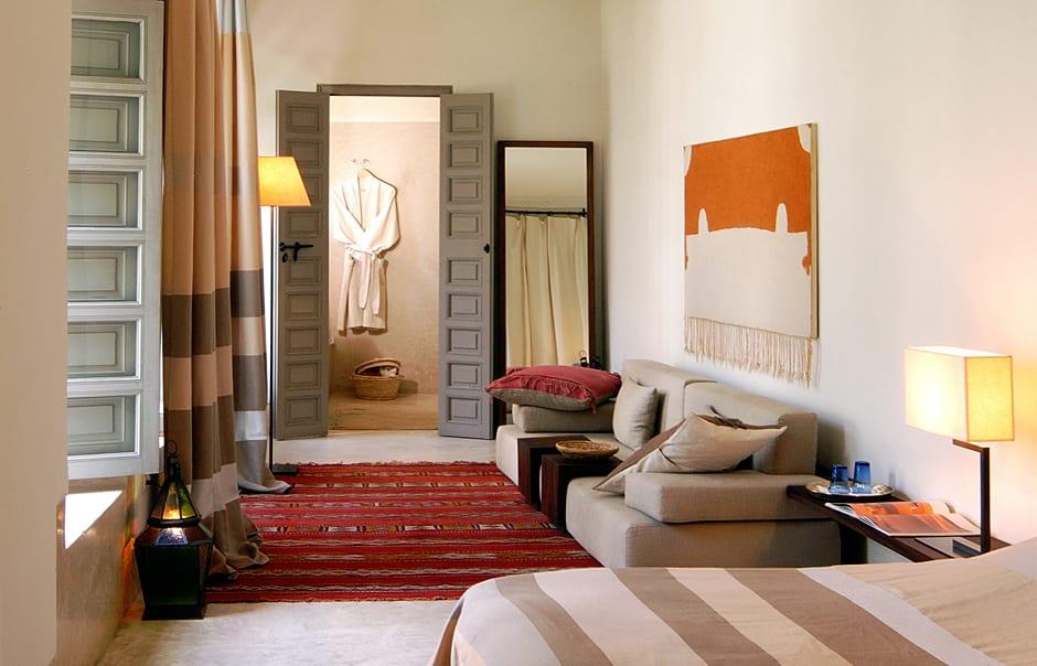 Deluxe Room. Riad Talaa12, Marrakech. © Talaa 12