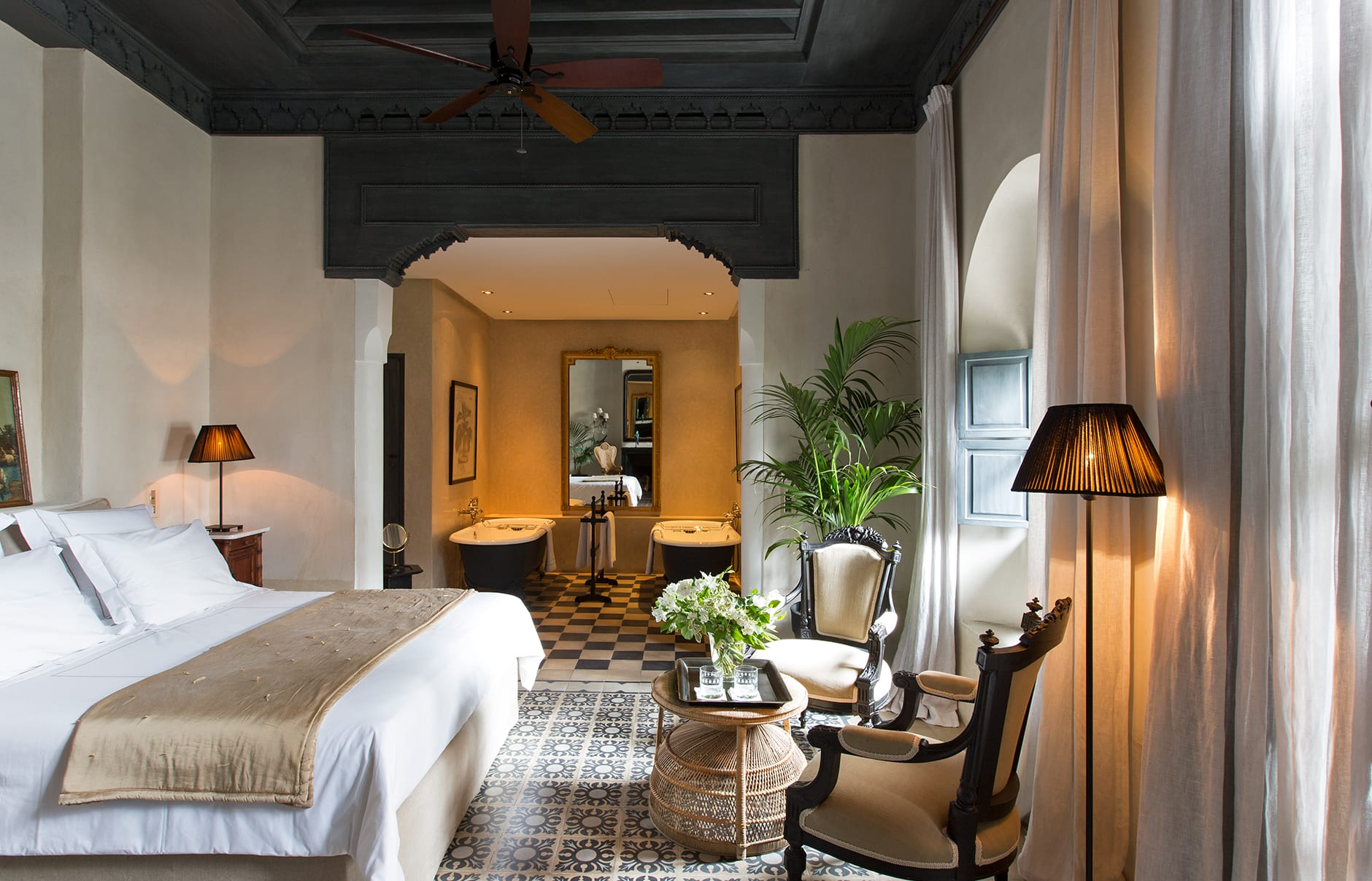 Riad de Tarabel, Marrakech Morocco. Luxury Hotel Review by TravelPlusStyle. Photo © Riad Tarabel