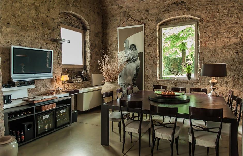 Living Room. Riva Lofts Florence, Italy. © Riva Lofts
