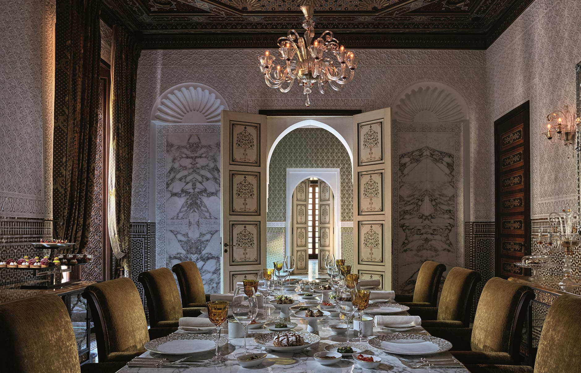 Royal Mansour, Marrakech, Morocco. Luxury Hotel Review by TravelPlusStyle. Photo © Royal Mansour