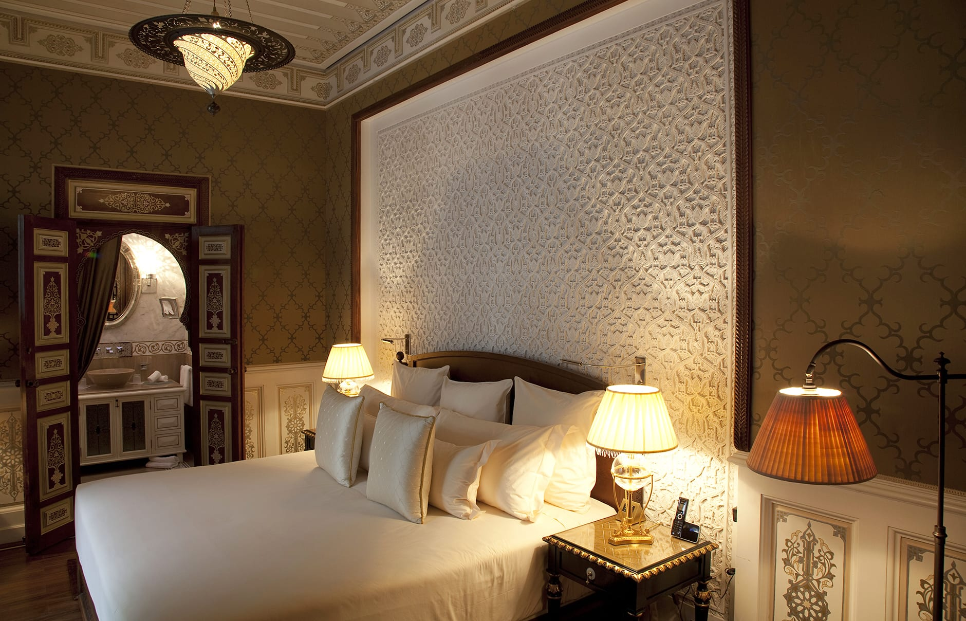 Guest Room. Royal Mansour, Marrakech, Morocco. © Royal Mansour