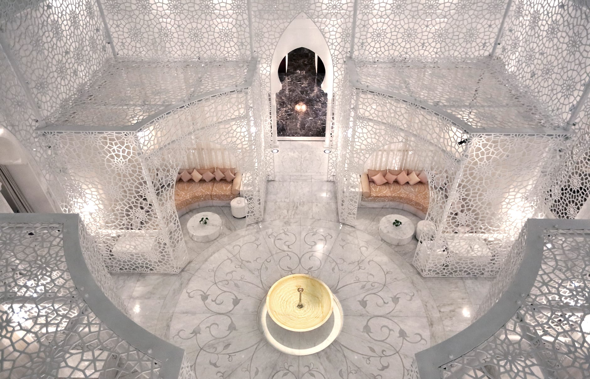 Spa. Royal Mansour, Marrakech, Morocco. © Royal Mansour
