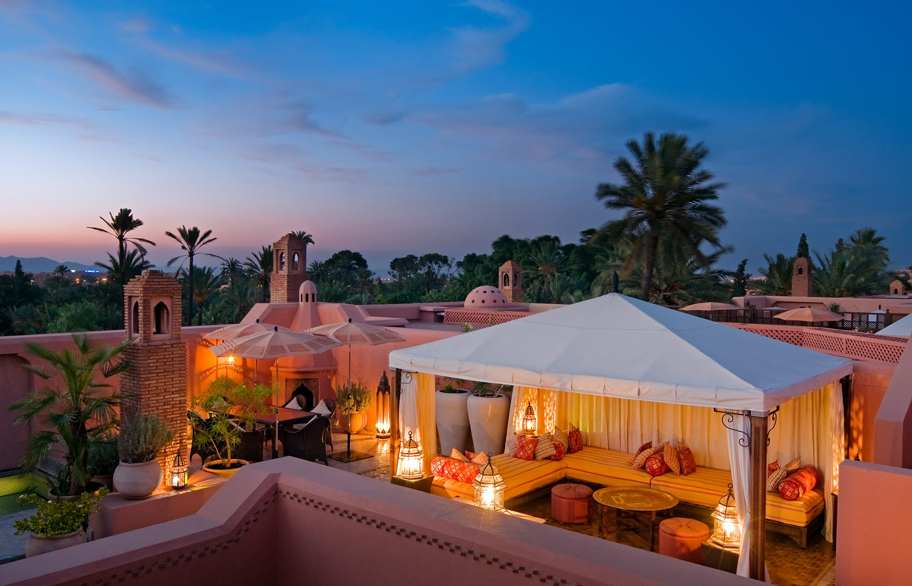 Riad. Royal Mansour, Marrakech, Morocco. © Royal Mansour
