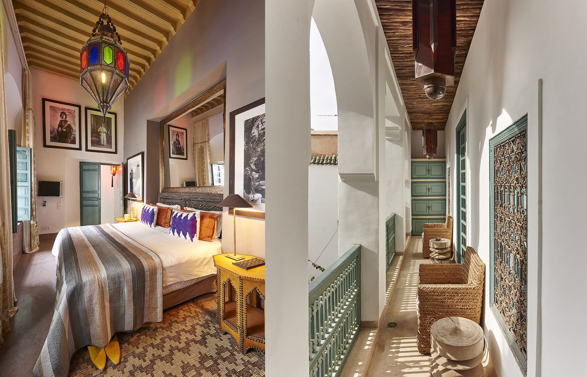 Ryad Dyor, Marrakech, Morocco. Hotel Review by TravelPlusStyle. Photo © Ryad Dyor