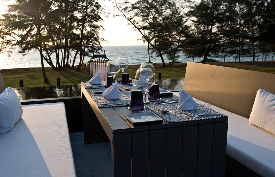 Rooftop dining © SALA Resorts & Spas