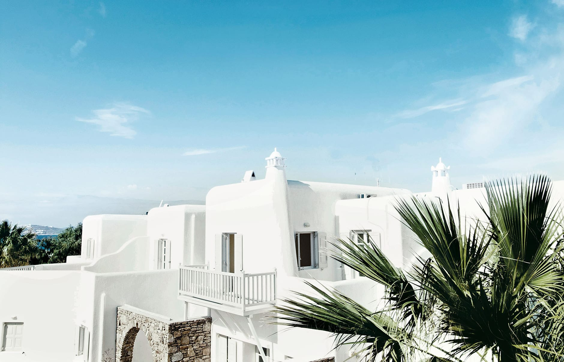 Exterior. San Giorgio Mykonos a Design Hotels™ Project, Greece. © SAN GIORGIO