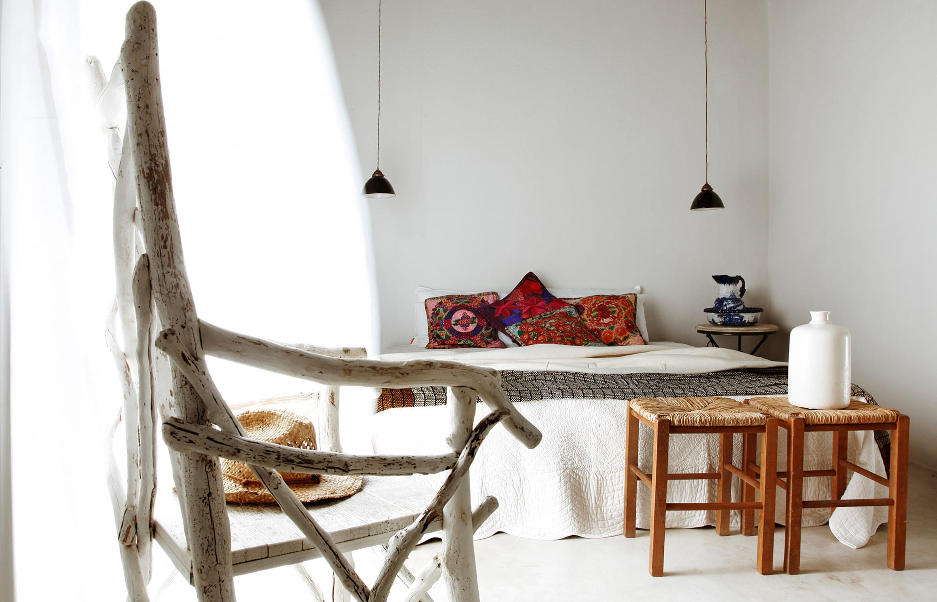 Room. San Giorgio Mykonos a Design Hotels™ Project, Greece. © SAN GIORGIO