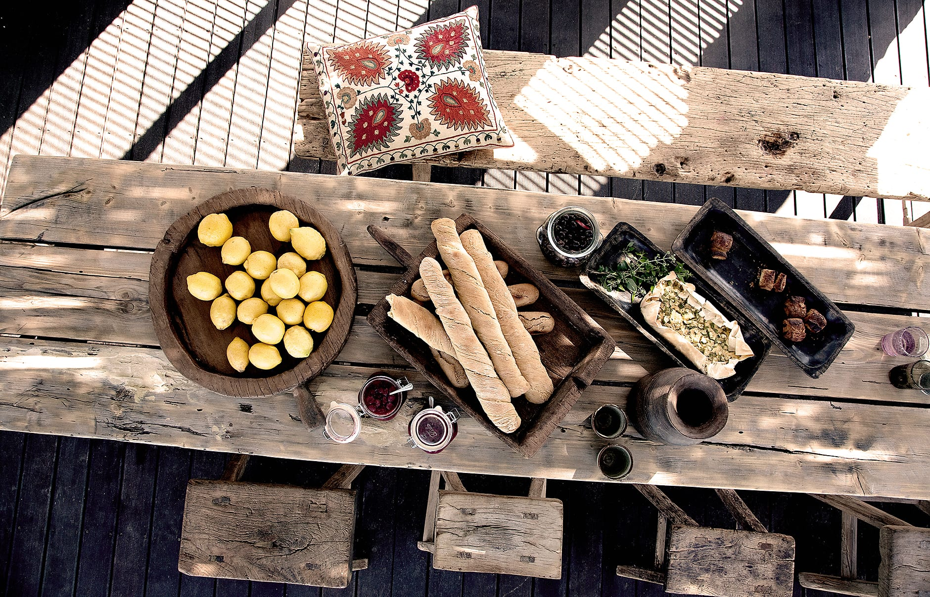 Cantina Restaurant . San Giorgio Mykonos a Design Hotels™ Project, Greece. © SAN GIORGIO
