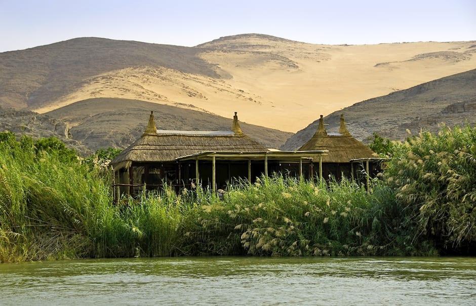 Camp Aerial, Serra Cafema, Kaokoland, Namibia. © Wilderness Safaris