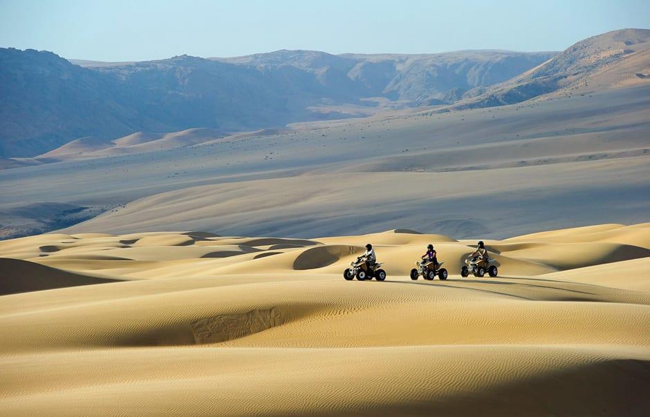 Quad Bike Experience, Serra Cafema, Kaokoland, Namibia. © Wilderness Safaris