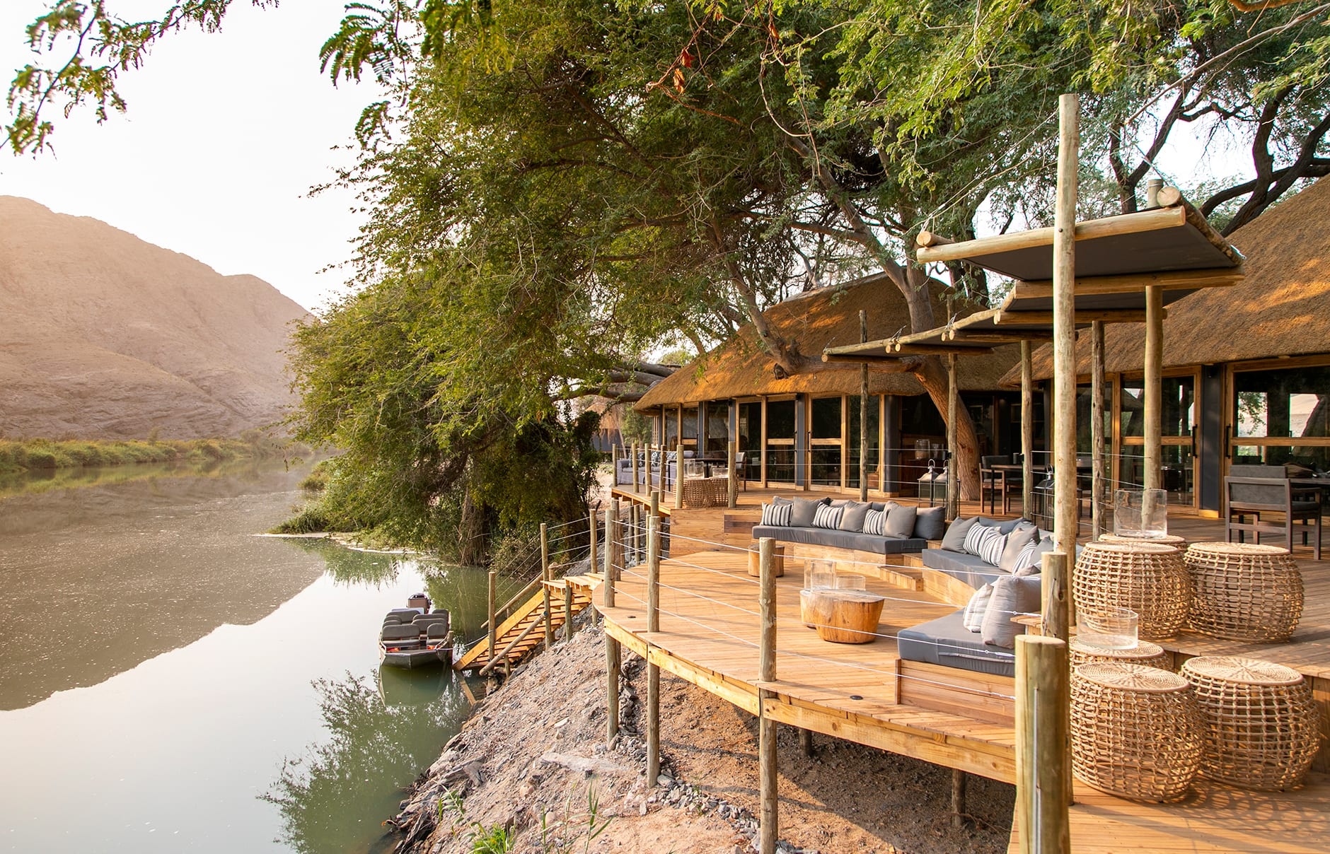 Serra Cafema Camp, Kaokoland, Namibia. Hotel Review by TravelPlusStyle. Photo © Wilderness Safaris