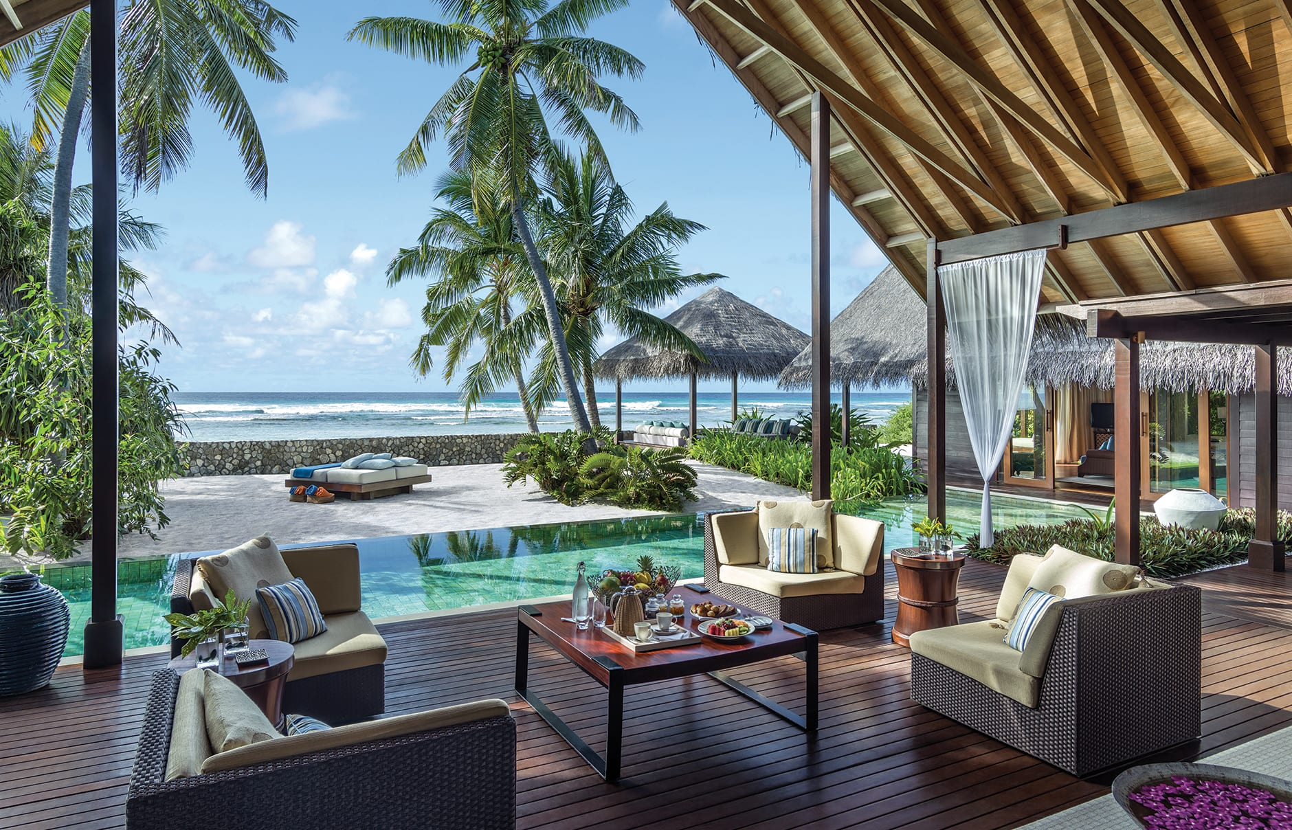 Shangri-La's Villingili Resort and Spa, Maldives. Hotel Review by TravelPlusStyle. Photo © Shangri-La Hotels and Resorts