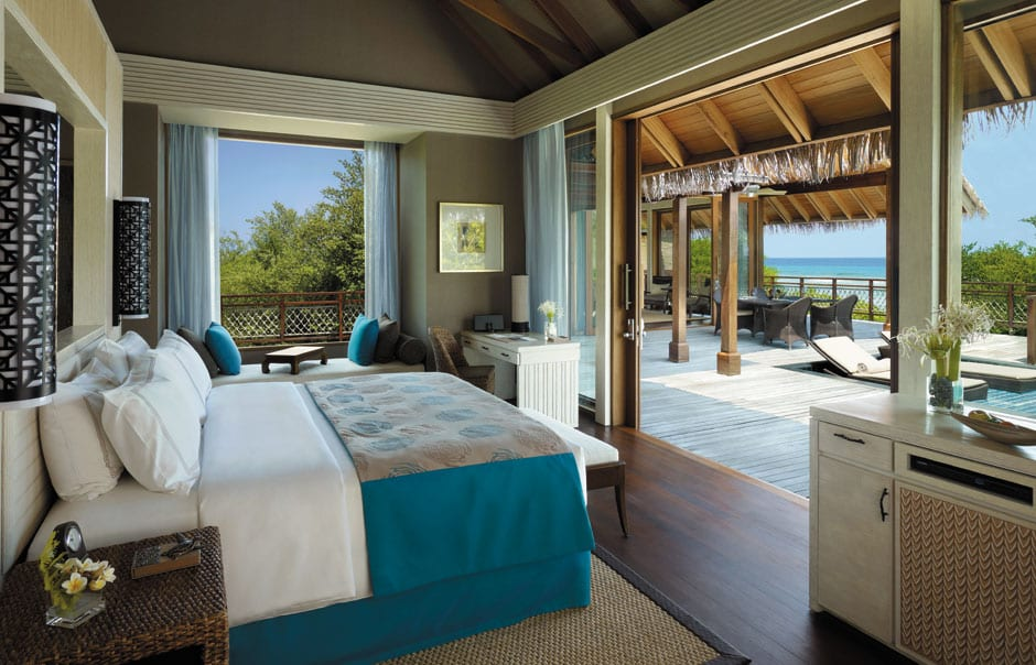 Ocean View Villa. Shangri-La's Villingili Resort and Spa. © Shangri-La Hotels and Resorts