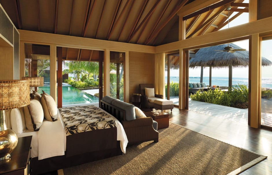 Villa Laalu. Shangri-La's Villingili Resort and Spa. © Shangri-La Hotels and Resorts