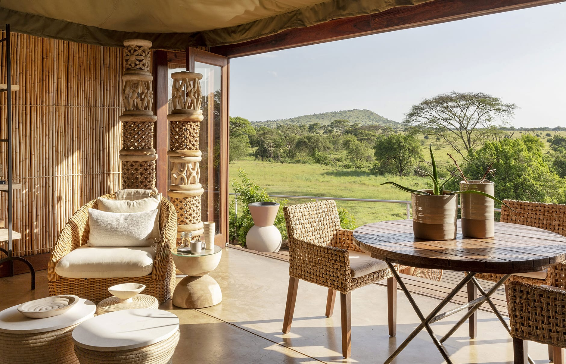 Singita Faru Faru Lodge, Grumeti Serengeti, Tanzania. Luxury Hotel Review by TravelPlusStyle. Photo © Singita